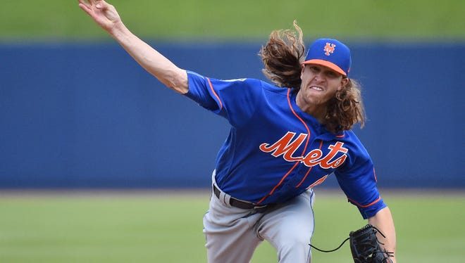 """Jacob deGrom says spring training generally has been """"pretty smooth for me."""""""