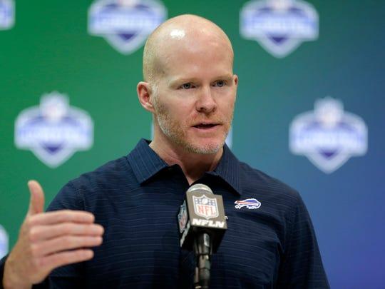 Buffalo Bills head coach Sean McDermott has had a busy
