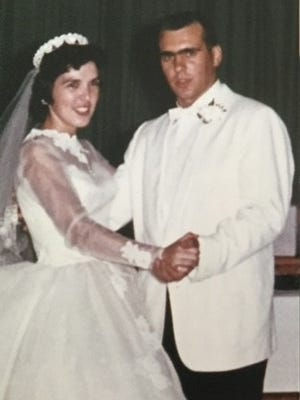 Pete and Joyceann Bybel in 1960 ...