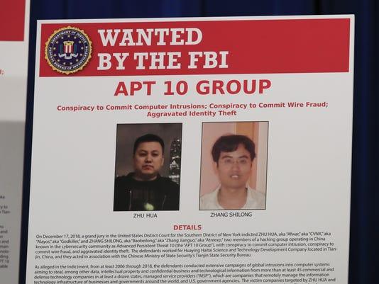 US China Espionage