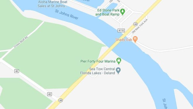 The State Road 44 bridge over the St. Johns River in the DeLand area will undergo construction work beginning Thursday, Aug. 6.