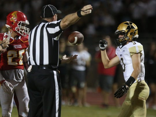 Palm Desert football host Xavier Prep on Friday, September