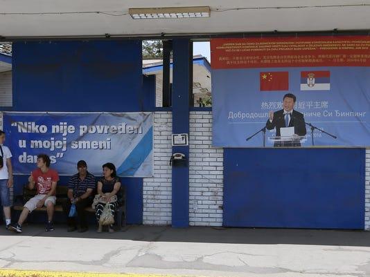 Serbia Balkans China's Presence (2)