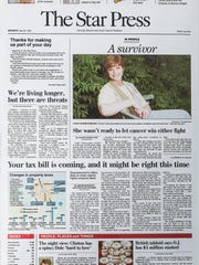 The first Star Press edition, May 20, 1996.