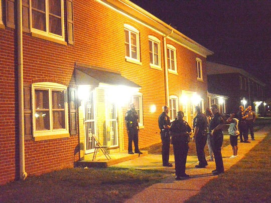 Police are investigating a shooting in Wilmington,