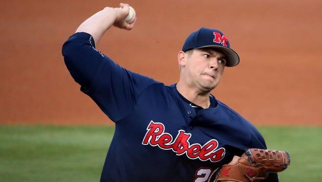 Starting pitcher Brady Bramlett was named to a watch list this week.