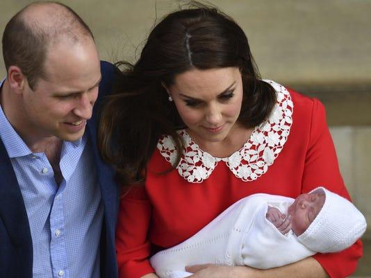 Britain Royal Baby (2)