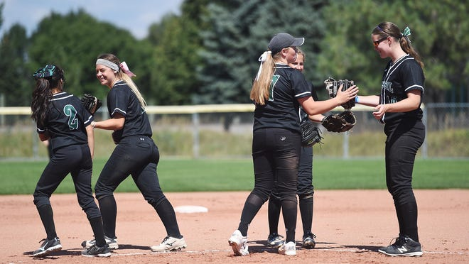 The Fossil Ridge High School softball team is ranked No. 1 in 5A in the latest CHSAANow.com poll.