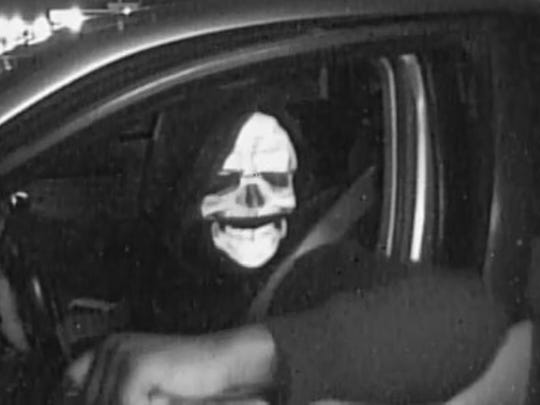 Detroit Police released this image of a masked man