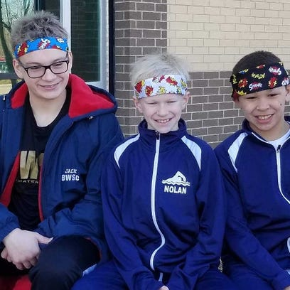 Blue Water Swim Club trio places at state finals