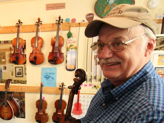 Roger Howell discussed Madison County's musical traditions