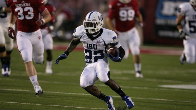 Former ISU running back started his CFL career with a bang.