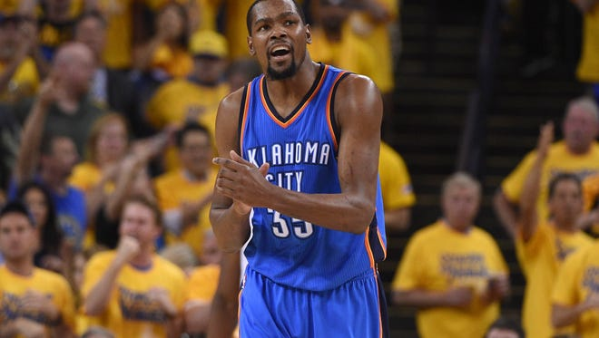 The smart money says Kevin Durant stays in OKC at least for a year.
