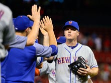 5 questions for Mets' Jay Bruce, GM Sandy Alderson