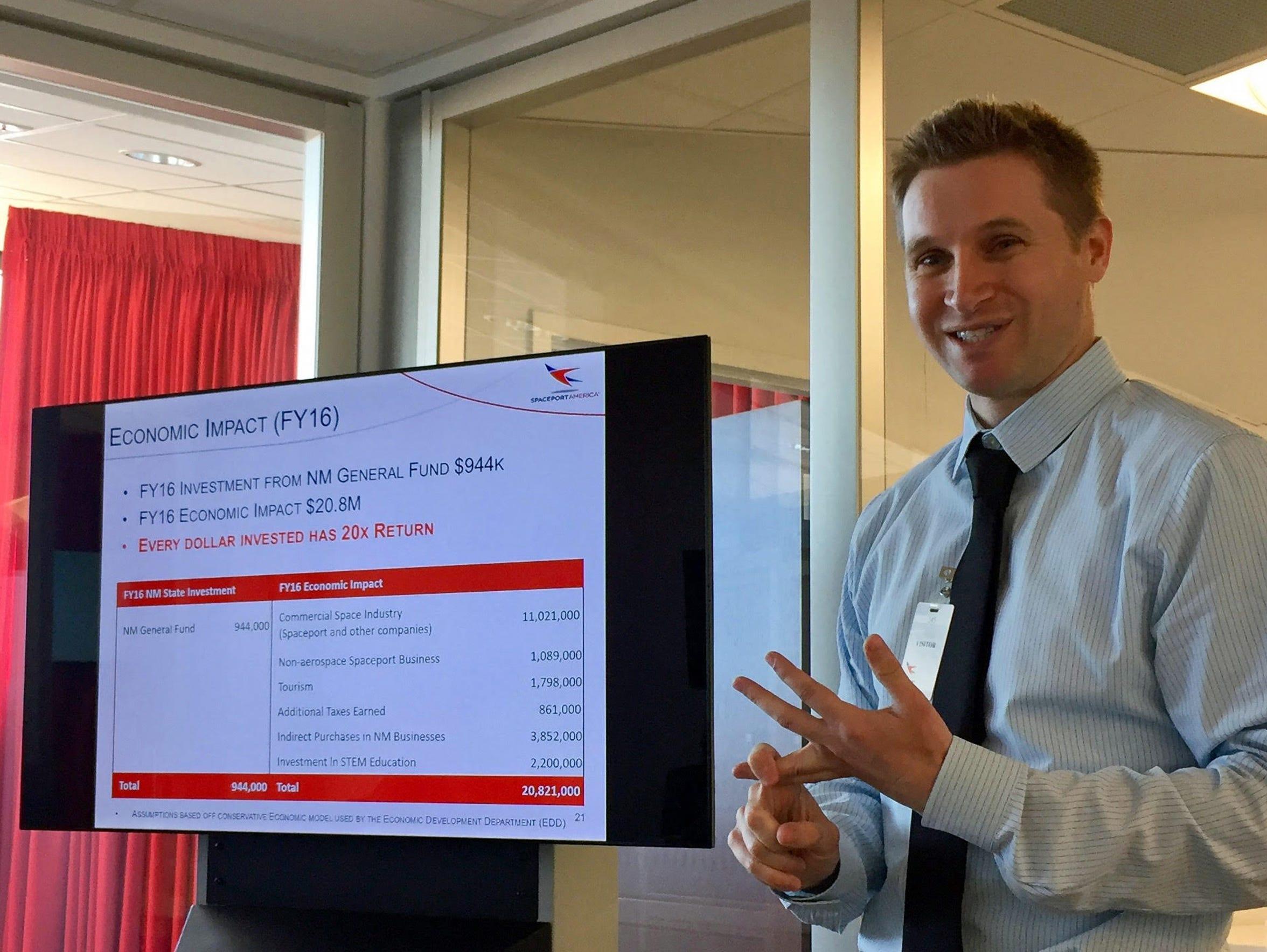 Spaceport America Chief Financial Officer Zach De Gregorio