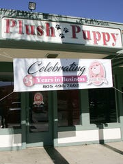 Nancy Benson has owned the Plush Puppy dog-grooming business in the Wendy Kimber Plaza in Newbury Park for 25 years. Part of the time, she operated it as a single mother raising four children.