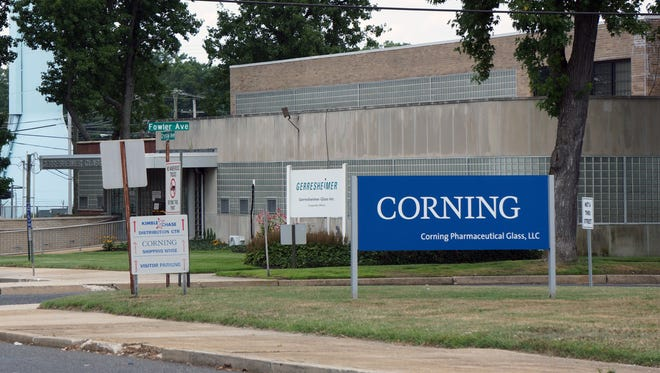 Corning Pharmaceutical Glass on Crystal Avenue in Vineland is expected to see a share of 1,000 jobs following a collaboration announcement with two other companies.