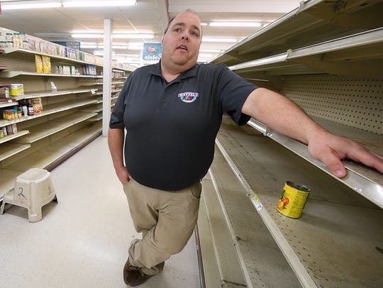 """Mike Wetzel says that one of the most difficult parts of the Wetzel's Market closing was telling employees that they would be """"loosing their livelihoods."""" He was assisting employees with finding other jobs in their convenience stores and other supermarkets."""
