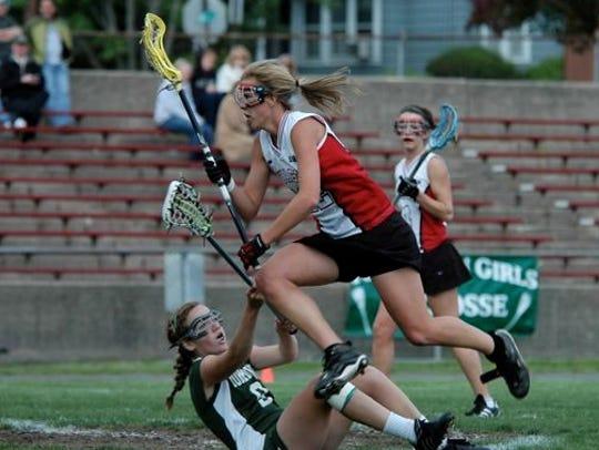 Caroline Chesterman makes a move on MacCalman Field