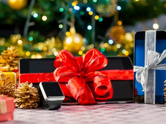 Tablet pc, smartphone and smartwatch for Christmas