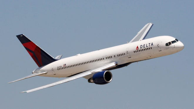 A file photo of a Delta Air Lines Boeing 757 aircraft.