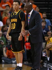Grambling coach Shawn Walker is looking for a marquee win for the Tigers' basketball program against a local team in Louisiana Tech.