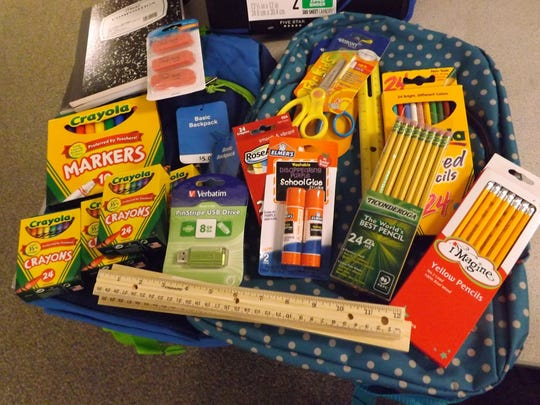 These are some of the school supplies needed by Communities