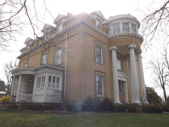 he Gennett Mansion at 1829 E. Main St.