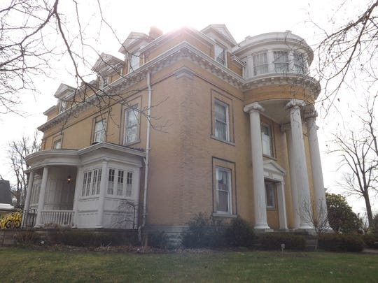 he Gennett Mansion at 1829 E. Main St.