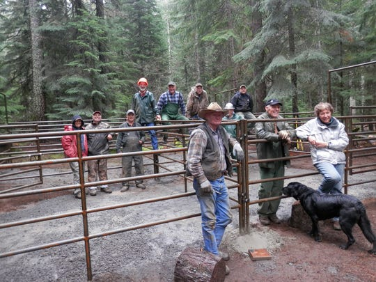 West Cascade Back Country Horsemen partnered with Detroit Forest Service and National Wilderness Stewardship Alliance to install top-grade corrals at Big Meadows Horse Camp in the heart of the Mt. Jefferson Wilderness Area.