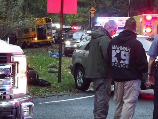 Police and emergency medical services responded to