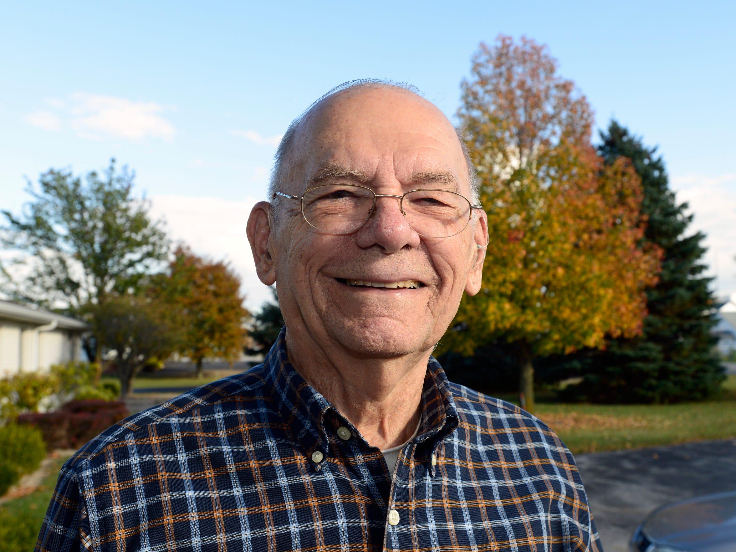 James Reardon, 90, served in World War II on a U.S.