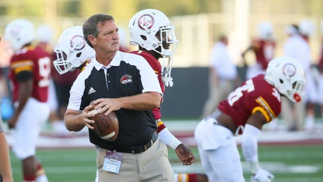 ULM defensive coordinator Mike Collins has eight starters back plus several players that missed time during the 2017 due to a rash of injuries.