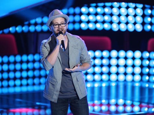 """Indianapolis-based singer Josh Kaufman is competing on """"The Voice."""""""