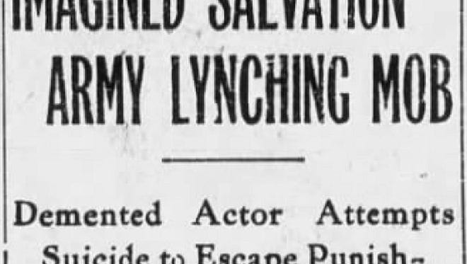 Newspaper article reports the fallout of a ventriloquist's offstage condition.
