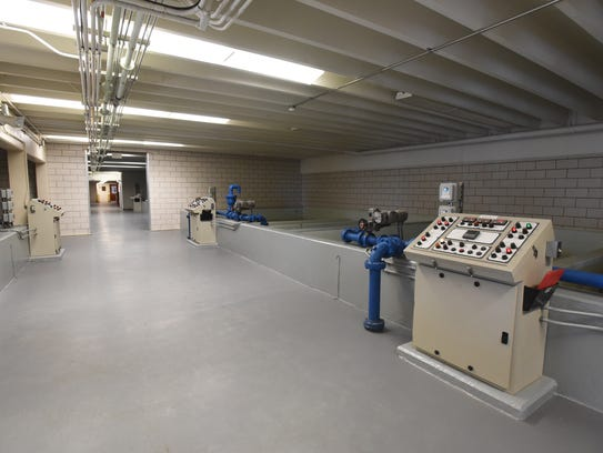 The newest portion of the Coshocton Water Treatment