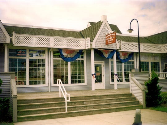 Exterior of the Wildwood Crest Historical Society and Museum on Crest Pier