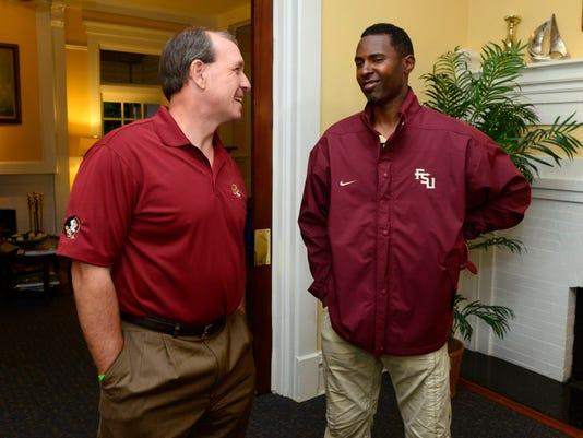 FSU Football coach Jimbo Fisher visits Pensacola duirng Seminole Boosters Champions Tour