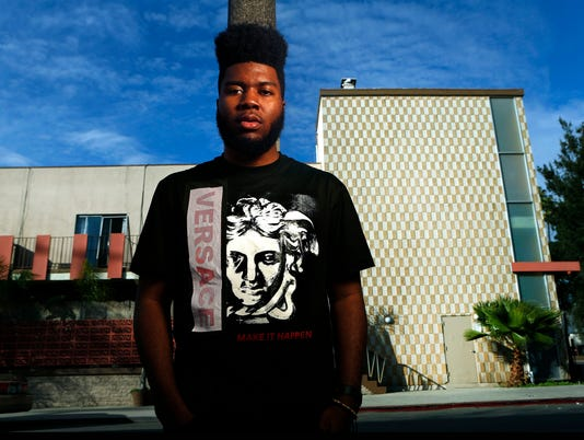 Rising young singer Khalid says heís still finding himself, but heís off to a good start