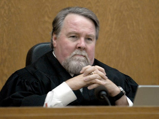 Reno Chief Judge Patrick Flanagan in court