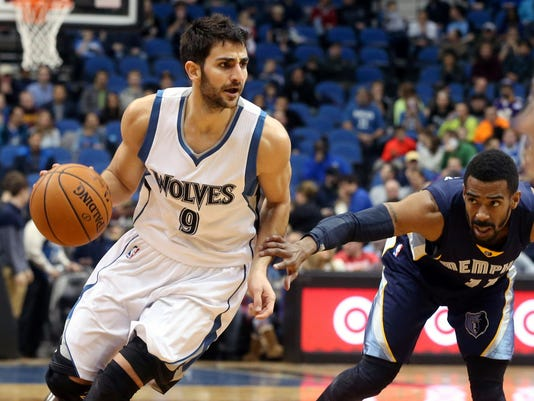 Ricky Rubio, Mike Conley