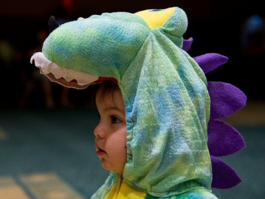 There are many trick or treat events and costume contests
