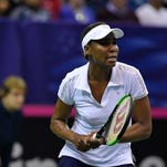 Venus Williams, CoCo Vandeweghe give USA 2-0 lead against Netherlands at Fed Cup
