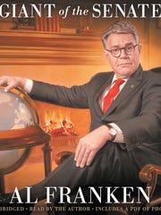 "Al Franken's new book, ""Al Franken, Giant of the Senate."""