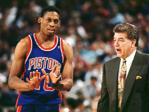 ESPN's Dennis Rodman 30 for 30 film sheds light on his Detroit Pistons days