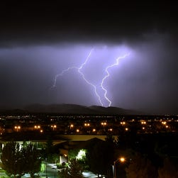 Teen struck by lightning while opening refrigerator