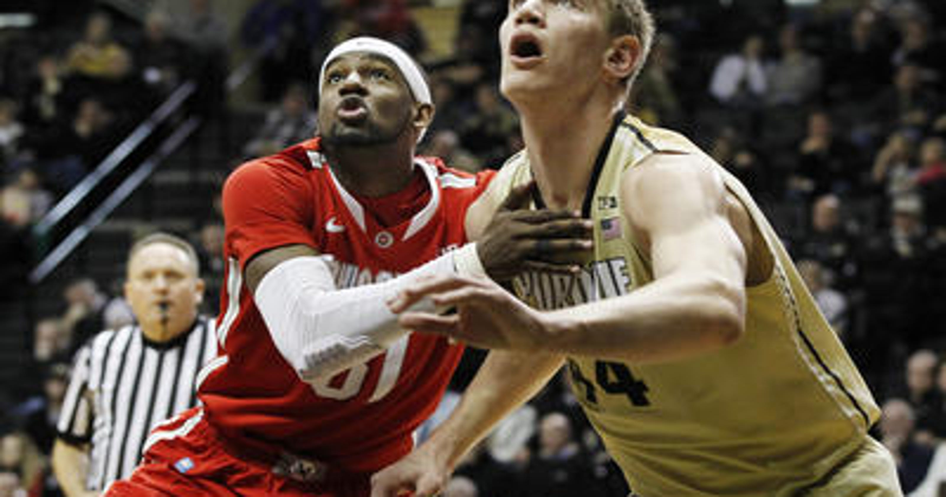 be5505ef3b28 Purdue centers battle for starting spot