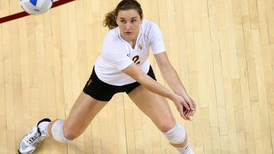 Outside hitter Macey Gardner goes into her junior season at ASU on pace to become the school career kills leader.