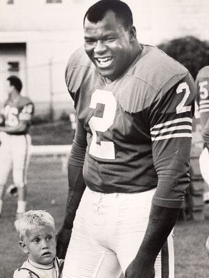 Cookie Gilchrist played six seasons in the AFL during the 1960s.