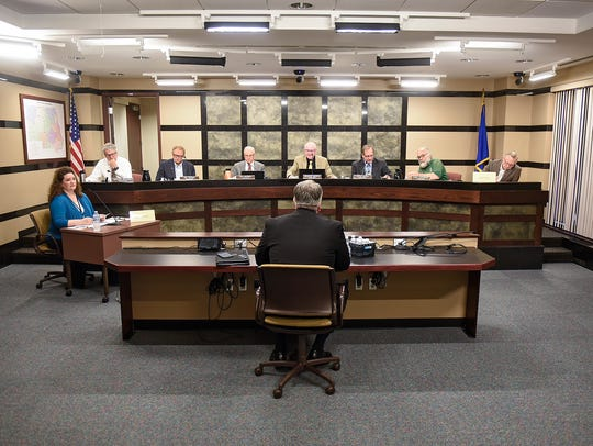 Stearns County commissioners begin interviews for the